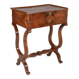 19th Century French Restauration Style Side Table For Sale