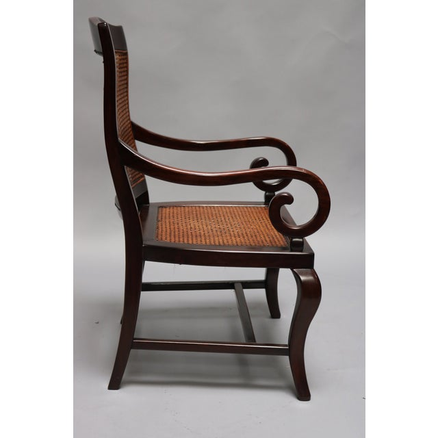Guangdong Ironwood Colonial Armchair, from Sri Lanka