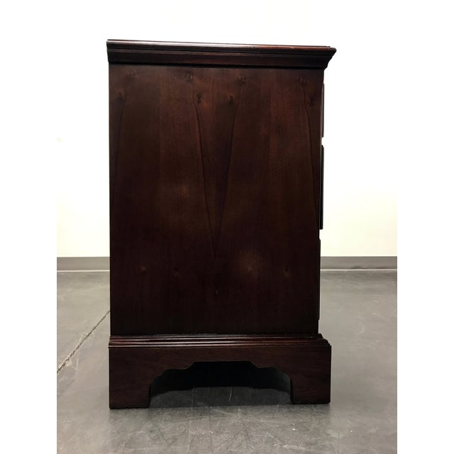 Brown Hickory Chair James River Plantation Mahogany Double Dresser For Sale - Image 8 of 11