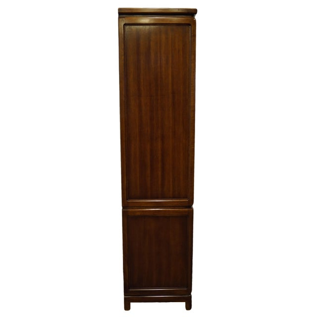 Vintage Thomasville Furniture Mystique II Asian Style Armoire For Sale - Image 10 of 12