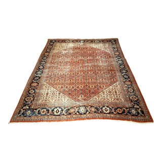 Late 1800s Persian Sultanabad Rug - 10′ × 12′10″ For Sale