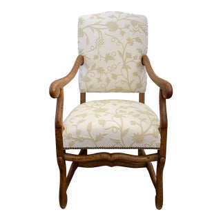 19th Century French Mutton Bone Arm Chair For Sale
