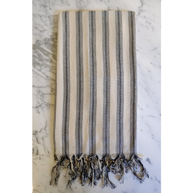 Turkish Hand Made Towel With Natural/Organic Cotton and Fast Drying,39x73 Inches For Sale - Image 13 of 13
