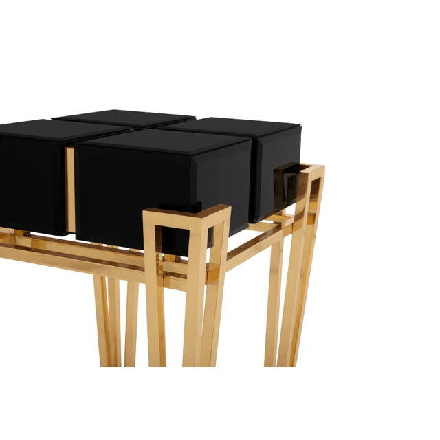 Brass Nubian Side Table From Covet Paris For Sale - Image 7 of 8