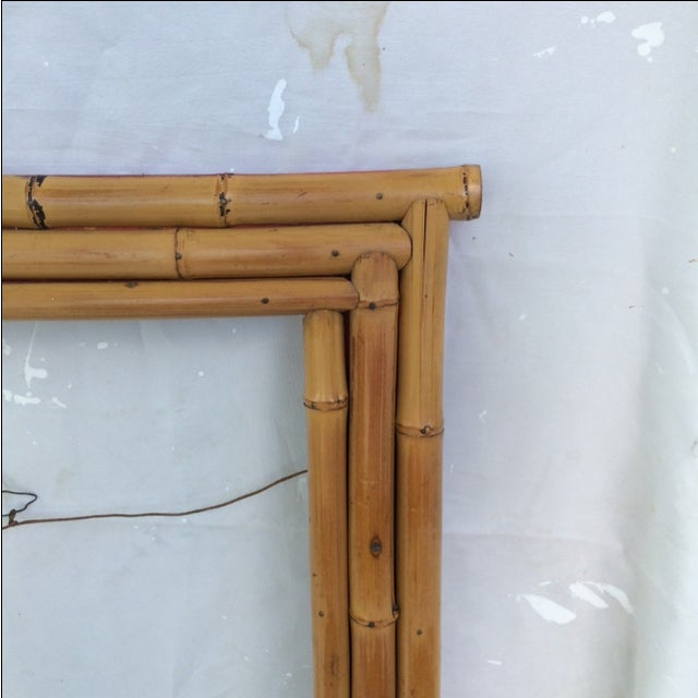 Bamboo Picture or Mirror Frame - Image 3 of 4