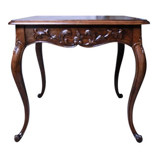 Henredon French Provincial Side Table For Sale