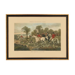 "J.F. Herring ""Breaking Cover"" Fox Hunting Scene Reproduction Print For Sale"