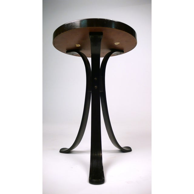 Modern Tripod Drink Table by Edward Wormley for Dunbar For Sale - Image 3 of 9