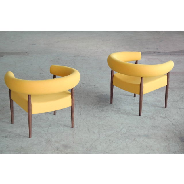 Nanna Ditzel Pair of Ring Chairs for Getama For Sale - Image 12 of 13