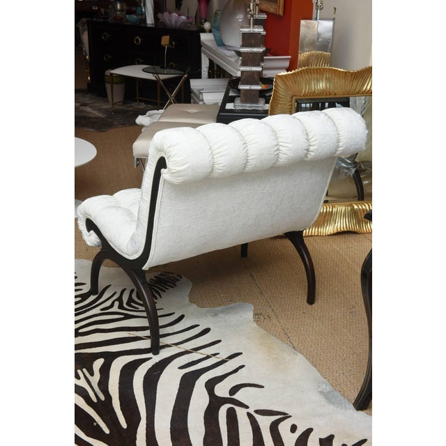Pair of Vintage Grosfeld House Hollywood Regency Lounge Chairs For Sale - Image 9 of 10