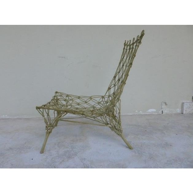 1990s 1990s Vintage Marcel Wanders for Droog Design Knotted Chair For Sale - Image 5 of 13