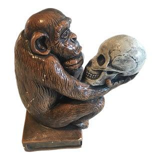 Darwin's Thinking Monkey Statue