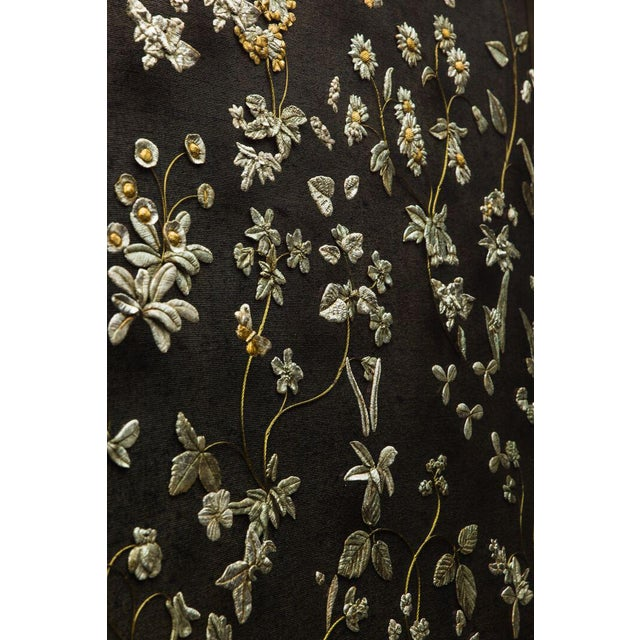 Sophie Coryndon's Primavera, a large triptych, draws inspiration from sixteenth-century tapestries and intricate gold-work...