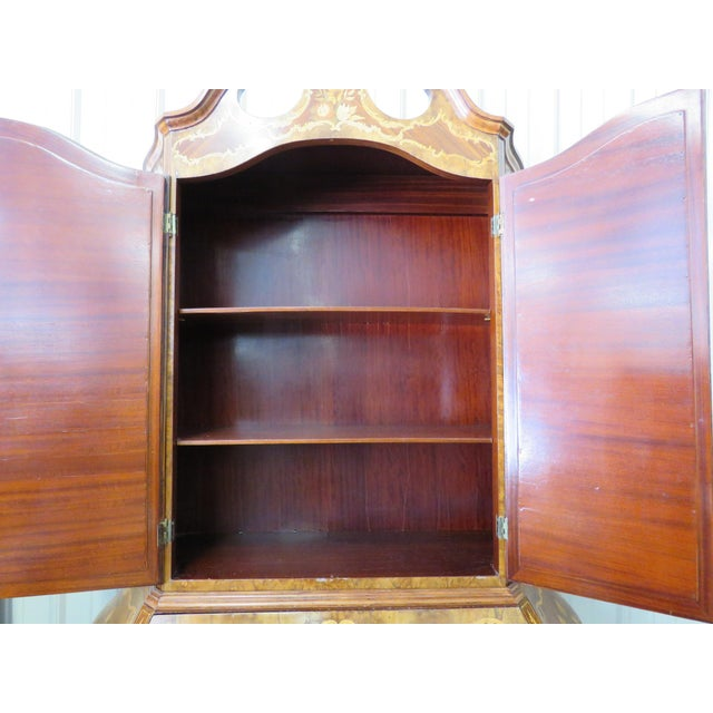 Early 20th Century Italian Bombay Secretary Desk For Sale - Image 5 of 10