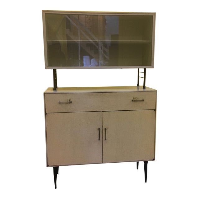 Mid Century Two Piece Cabinet - Image 1 of 9