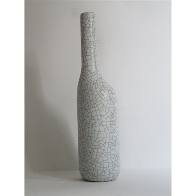 Asymmetrical Crackle Vase - Image 6 of 7