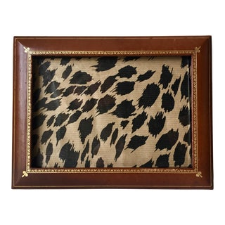 Florentine Gilt Leather Picture Frame