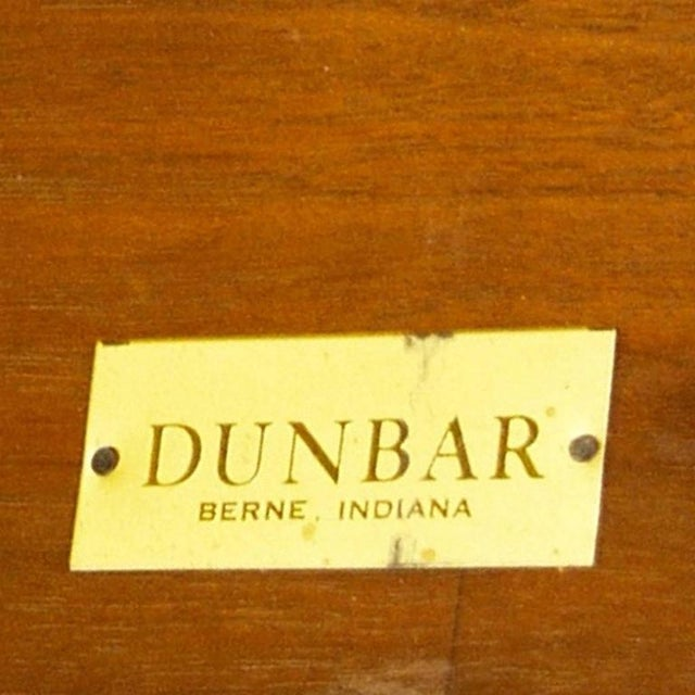 Brown Edward Wormley for Dunbar Extension Dining Table For Sale - Image 8 of 9