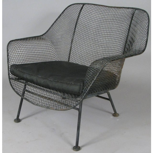 Russell Woodard Pair of 1950s Woodard Sculptura Lounge Chairs For Sale - Image 4 of 7