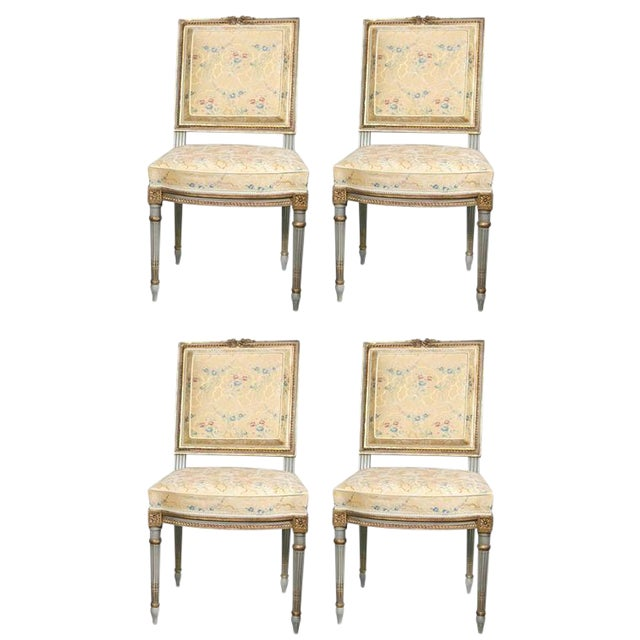 Maison Jansen Dining Chairs - Set of 4 For Sale - Image 11 of 11