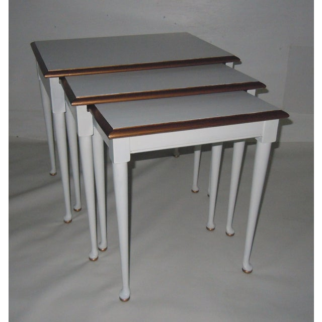 Mid-Century Nesting Tables - Set of 3 - Image 2 of 7