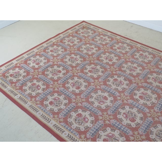1980s Aubusson Room Size Rug - 8' X 12' For Sale In Philadelphia - Image 6 of 13