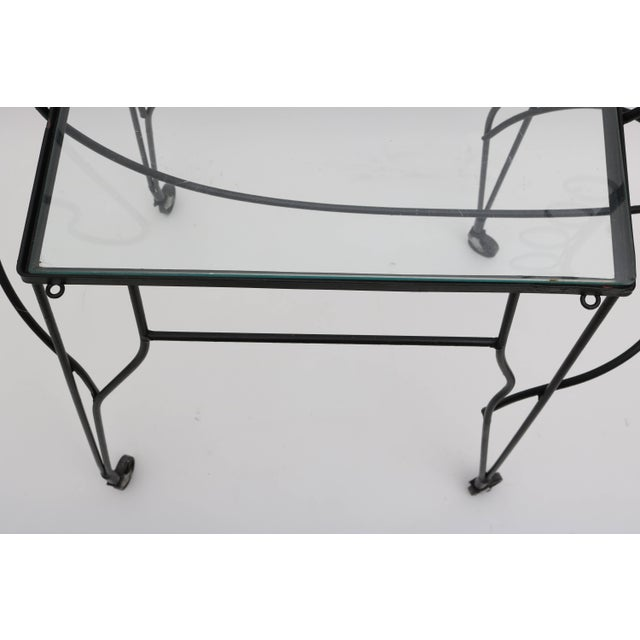 Mid-Century Modern Horse-Form Bar Cart by Frederick Weinberg For Sale In West Palm - Image 6 of 9