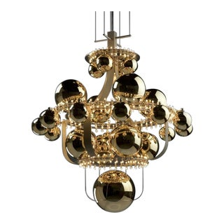 Vintage Royal Bb Quasar Ceiling Lamp For Sale