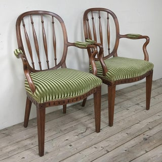 Pair 18th Century Swedish Armchairs Preview