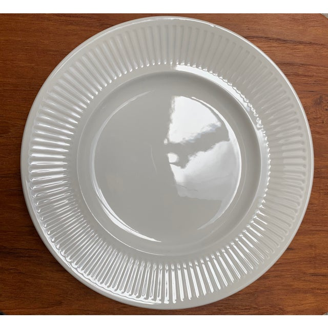 Modern Final Markdwon 1960s Johnson Brothers White Ironstone Dinner Plates - Set of 11 For Sale - Image 3 of 12