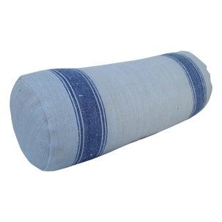 Antique Grain Sack Neck Pillow For Sale