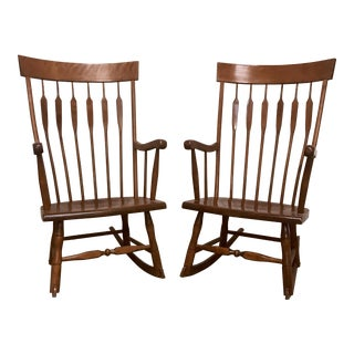 Mid-Century Rocking Chairs - A Pair