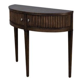 Mezzo Console Table, Artisan Grey For Sale