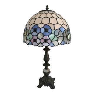 Vintage Art Nouveau Tiffany Table Lamp