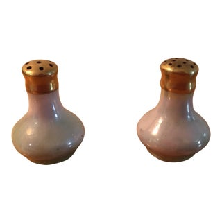 Lusterware Salt & Pepper Shakers