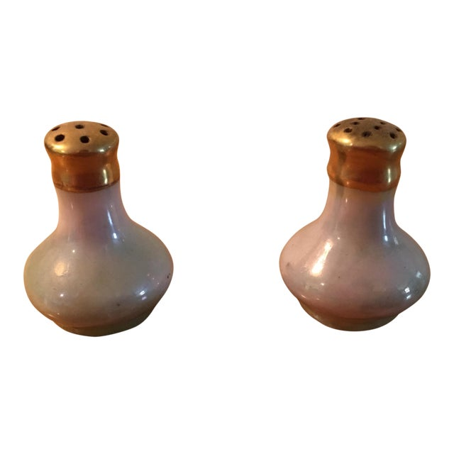 Lusterware Salt & Pepper Shakers - Image 1 of 4