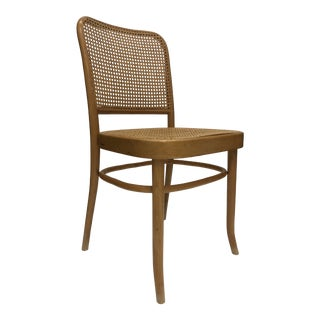 Vintage Bentwood and Cane Chair For Sale