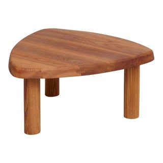 Mid-Century Modern Pierre Chapo Coffee Table For Sale