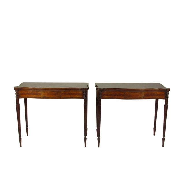 Late 19th Century Federal-Style Card Tables - a Pair For Sale - Image 13 of 13