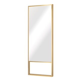 Nuevo Living Alexa Floor Mirror In Gold For Sale