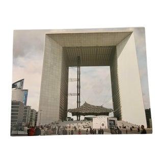 """""""La Defense, Paris"""" Original Street Photograph by Louise Weinberg. For Sale"""