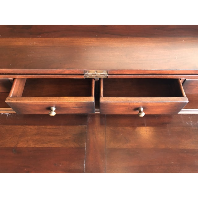 Spanish Colonial Style Wood and Iron Lift Top Desk For Sale In West Palm - Image 6 of 9
