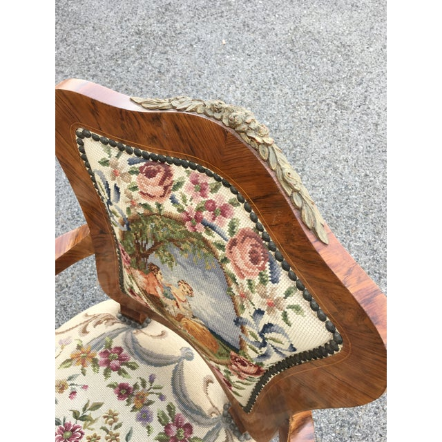 1900s Antique Accent Chair For Sale In New York - Image 6 of 8