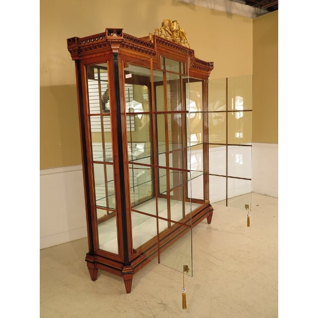 Colombo Italian Neoclassical Lighted Display Cabinet - Image 6 of 11