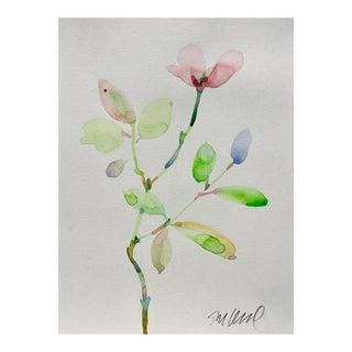 Botanical 43, Original Watercolor, 9x12 For Sale