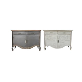 Raylen Two Drawer Cabinets - A Pair For Sale