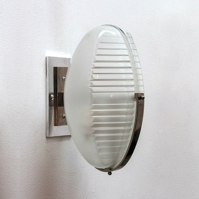 Artemide Pair of Vico Magistretti Wall Lights For Sale - Image 4 of 11