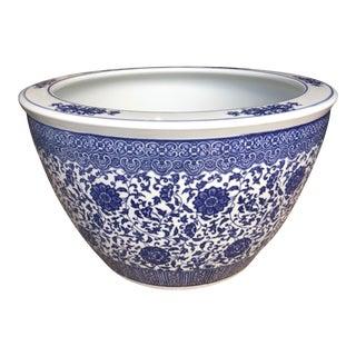 Asian Blue & White Planter