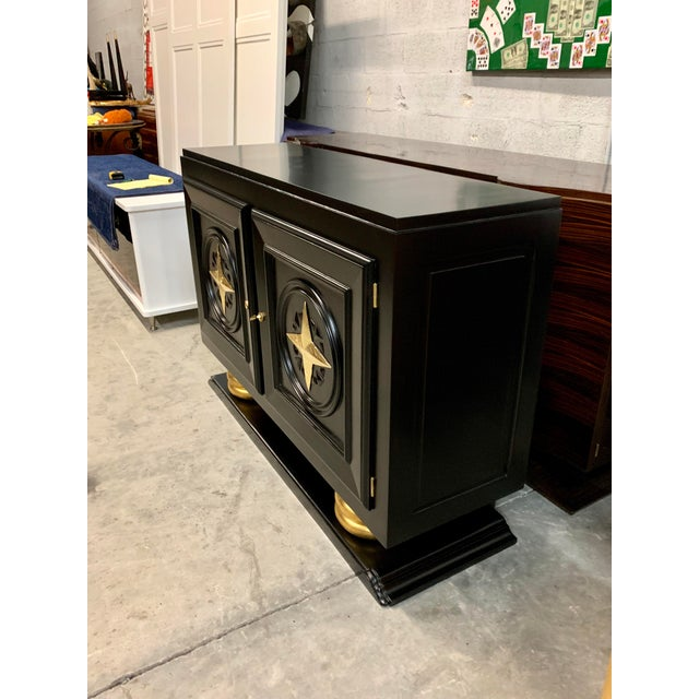 1940s Vintage French Art Deco Sideboard / Buffet / Bar For Sale - Image 11 of 13