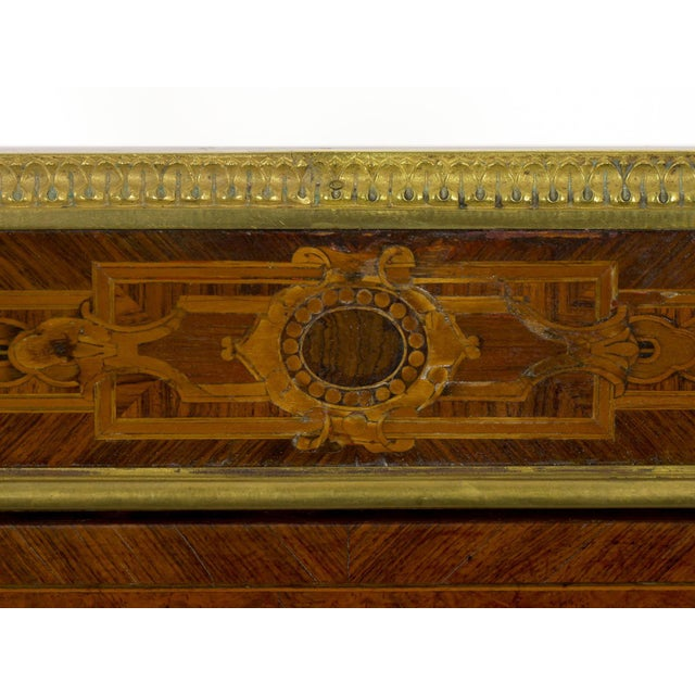 Antique French Marquetry Wine Serving Accent Table by Paul Sormani & Fils For Sale - Image 10 of 13